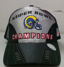St. Louis Rams NFL Super Bowl XXXIV Locker Room Hat By Puma Free Ship