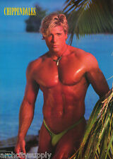 POSTER : CHARLES WALHEIM - SEXY MALE CHIPPENDALE MODEL -FREE SHIP - #2986 LC22 J