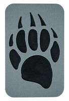 ToeJamR Snowboard Stomp Pad - GRIZZLY BEAR PAW PAD - GRAY