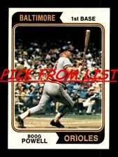 1974 Topps 460-660 EX/EX-MT Pick From List All PICTURED