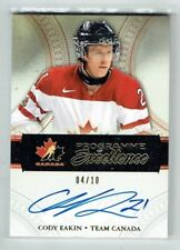 11-12 UD The Cup Programme of Excellence  Cody Eakin  /10  Auto