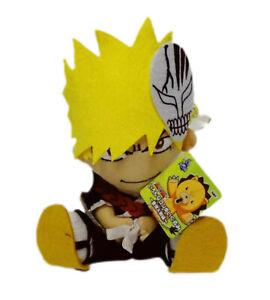 Bleach Ichigo Banpresto Plush Soft Stuffed Toy Doll Japanese Anime 2005