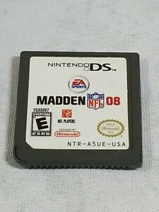 Madden NFL 08, Game Only, Nintendo DS