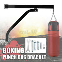 Wall Mounted Heavy Duty Bracket Boxing Punch Sand Bag Rack Hanging Stand   *f