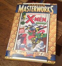 X-MEN Marvel Masterworks ISSUES 1-10 KIRBY 1998 5th Printing FREE US SHIPPING