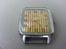 Russian Mechanical Watch Raketa Rocket . Date calendar . Made In USSR .