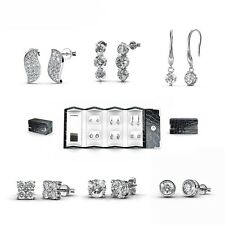 [Crystals from Swarovski®] 6 Days Elegant Earrings Set
