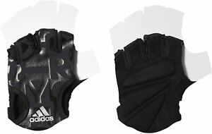 adidas Ladies ClimaLite Graphic Glove Size L Black RRP £22 Brand New AJ9511