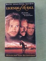 Legends of the Fall - Brad Pitt, Anthony Hopkins, Aidan Quinn (VHS) acadamy win