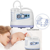 Portable Quiet Suction Unit Vacuum Phlegm Medical Emergency Aspirator Baby Elder