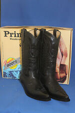 Prime Boots  cowboystiefel westernstiefel neu  handmade cowboyboots gr. 42 black