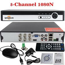 8 Channel CCTV DVR Video Recorder 1080N AHD HDMI Digital SYSTEM MOBILE ACCESS