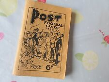 NOTTINGHAM Post FOOTBALL Guide 1948 - 49 includes Various Local Teams