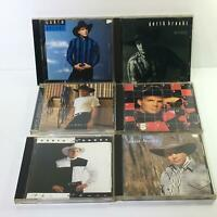 Garth Brooks Lot of 6 Music Audio CD - Capitol Compact Disc