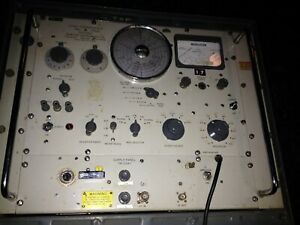 A very rare old Marconi Instruments signal generator No. 18 MKII - CT 402