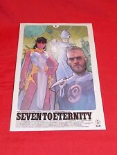 SEVEN TO ETERNITY # 5A PHIL NOTO VAR COVER IMAGE REMENDER OPENA HOLLINGSWORTH