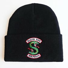 New Black Riverdale Cosplay Beanie Hat Southside Serpents Unisex UK🇬🇧 Dispatch