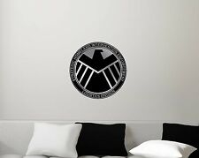 Marvel's Agents of S.H.I.E.L.D. Shield Symbol TV Movies Gift Decal Repositionabl