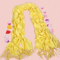 HOT NEW Yellow Soft Pashmina/Cashmere/Shawl/Scarf/Stole/Wrap