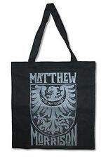 Matthew Morrison Crest Still Got Tonight Black Tote Bag New Official Glee Music