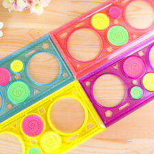 1 Pcs Spirograph Geometric Ruler Drafting Tools Stationery Drawing Toys Set FO
