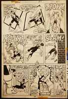 Marvel POWER MAN #27 page 27 Original Art Page SIGNED by George Perez (1975) Luk