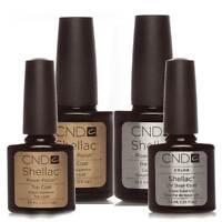 Nail Polish For CND Shellac  Choose Top, Base Coat, XPRESS5 or Top & Base Coat