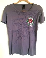 VINTAGE GOV'T MULE KINDER REVOLUTION 2008 LADIES T-SHIRT  WARREN HAYNES ABB M/L