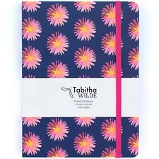 A5 Notebook Lined Diary / Journal 240 pages Thick Elastic New With Small Defect