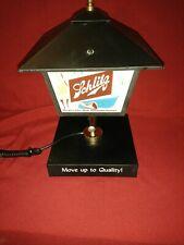 Vintage Nos. 1950's Schlitz Lighted Beer Sign Street Lamp Post Light Nib