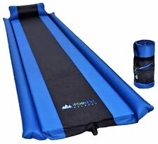 Sleeping Pad Armrest Pillow Self inflating Sleeping Pad Camping Hiking Air Pad