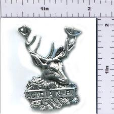 Hiking Staff Medallion Stocknagel-Acadia NP-Deer Head (AC-1)