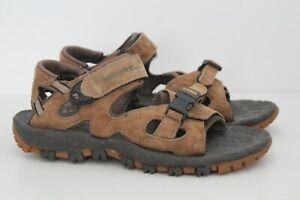 Merrell Mens Brown Adjustable Walking Sandals Summer Shoes Size UK 7