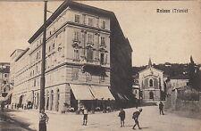 P0524 - ROIANO TRIESTE - PIAZZA CENTRALE VIAGGIATA1924