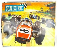 VINTAGE 1960s TRIANG SCALEXTRIC GRAND PRIX MOTOR RACING SET OUTFIT No. 50, BOXED