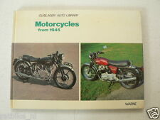 OLYSLAGER LIBRARY SET OF 3 BOOKS MOTORCYCLES AND SCOOTERS  FROM 1945,TO 1945