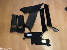 E81 1er Blenden Innenraum Innenausstattung M-Paket schwarz anthrazit Set