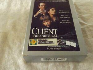 Audio Book The Client John Grisham Read By Blair Brown 4 Cassettes 360 Min 1993