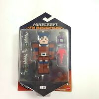 "Minecraft Dungeons Hex 3.25"" Figure New in Package 2020"
