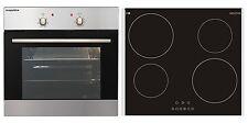 respekta Installation Stove Oven Oven Set autark Grill + Induction Glass Ceramic