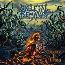 Condemned To Misery (Black Vinyl) von Skeletal Remains (2015)