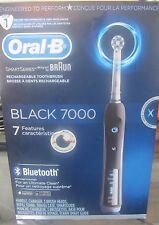 Braun Oral-B Smart Series Black 7000 Rechargeable Toothbrush Bluetooth