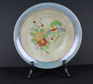 Floral Village House Made in Japan Decorative Accent Piece Bowl