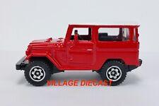 "2009 Matchbox ""New Models"" '68 Toyota Land Cruiser (FJ40) SEMINOLE RED / NR-MT++"