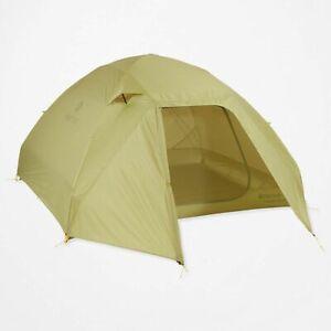 Marmot Tungsten UL Tent - 4 Person, 3 Season Tent, Wasabi