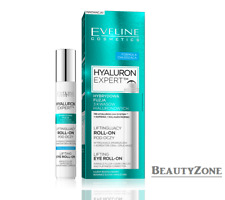 EVELINE HYALURON EXPERT LIFTING EYE ROLL-ON WRINKLE FILLER DARK CIRCLES