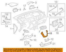 Buick GM OEM 13-16 Encore Instrument Panel Dash-Center Molding 95107196