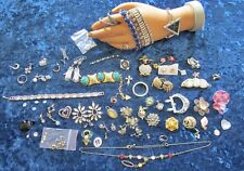 Collection of Damaged Rhinestone Pieces for Parts or Repair 03