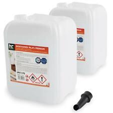 20 Liter (2 x 10 L) Bioethanol Premium 96,6% TÜV-geprüft Bio Alkohol für Kamin