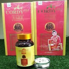CORDY PLUS 30 Capsule Cordyceps Sinensis Extract 350 mg plus Vitamin Supplement